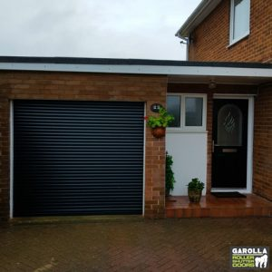 Electric Roller Shutter Garage Doors - Space Saving in Design