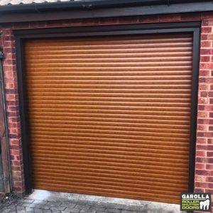 Oak Roller Garage Door